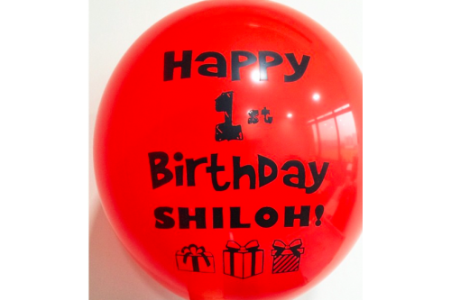 Balloon Printing Services Type 04 (Contact us for more details)