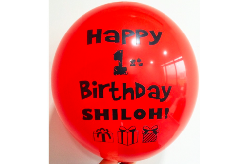 Balloon Printing Services Type 05 (Contact us for more details)