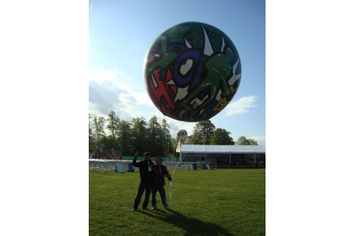 3m All Round Print Inflatable Balloon @ London-Singapore Day (Contact us for more details)