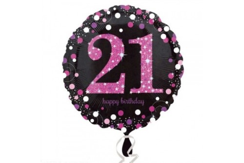 18 Inch 21st Birthday Balloon