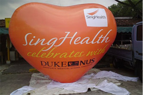 3m Heart-Shaped Giant Balloon (Contact us for more details)
