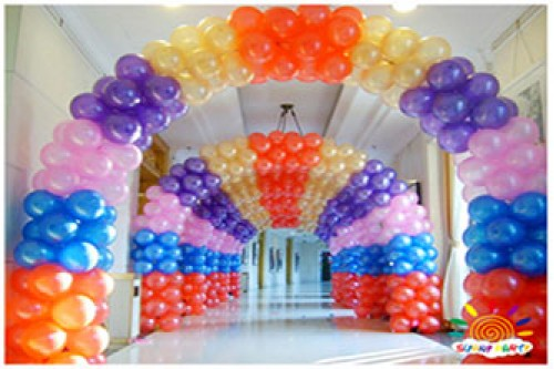 Balloon Arch Standard 2m by 2m