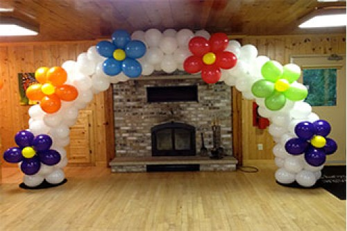 Balloon Flower Arch 2M by 2M