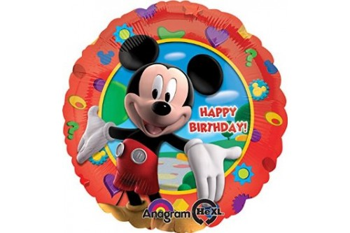 18 Inch Anagram Mickey Mouse Micro Foil Balloon
