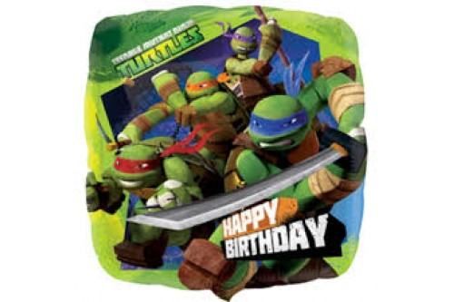 18 Inch Anagram Ninja Turtle Balloon