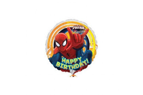 18 Inch Anagram Spiderman Balloon