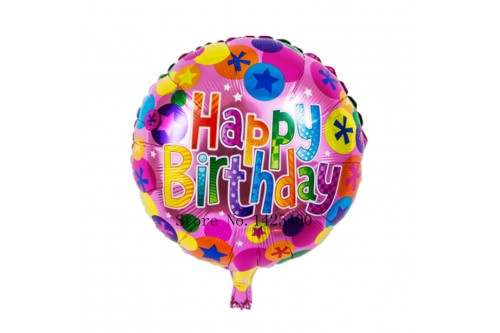 18 Inch Happy Birthday Balloon