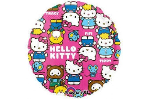 18 Inch Hello Kitty and Friends Balloon