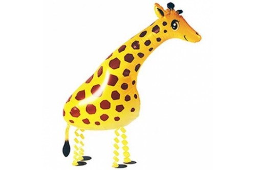 Air Walking Giraffe Balloon