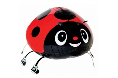 Air Walking Ladybug Balloon