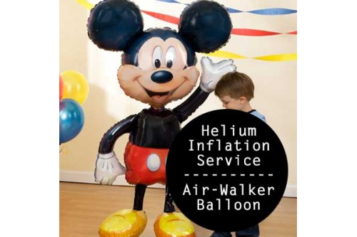 Airwalker Balloon Helium Inflation