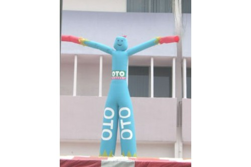 Dancing Tube Puppet with Printing